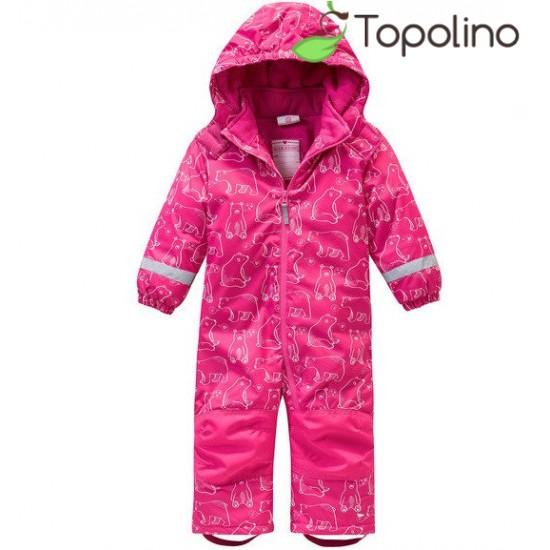 Термокомбинезон раздельный Topolino для девочки новая коллекция